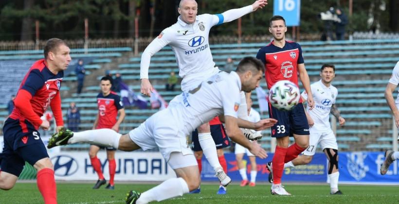 Минск в концовке вырвал победу у Ислочи