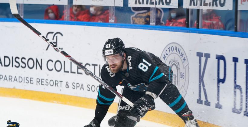 Никита Феоктистов отметился первой шайбой в сезоне