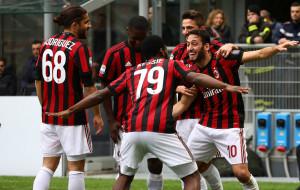 Милан одержал восемь побед на старте Серии А