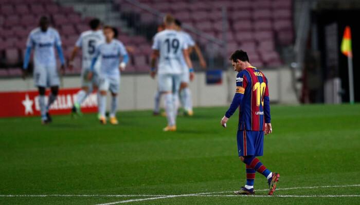 Барселона дома не сумела обыграть Валенсию