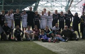 Крумкачы провели матч с ведущими белорусскими журналистами (видео)