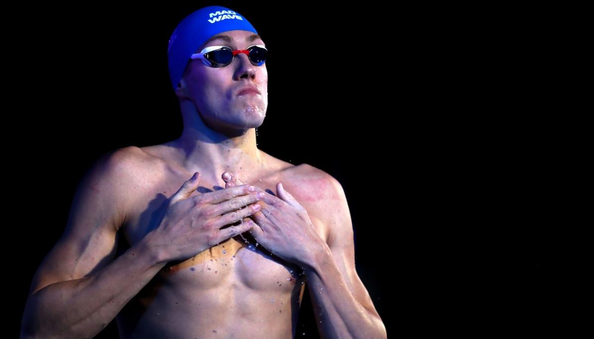 Илья Шиманович, плавание