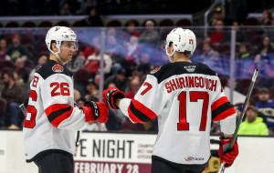 БЕЛАРУСский десант в НХЛ. Шарангович рвется в бой