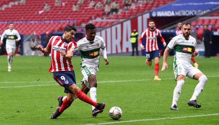 Атлетико не испытал проблем в матче против Эльче