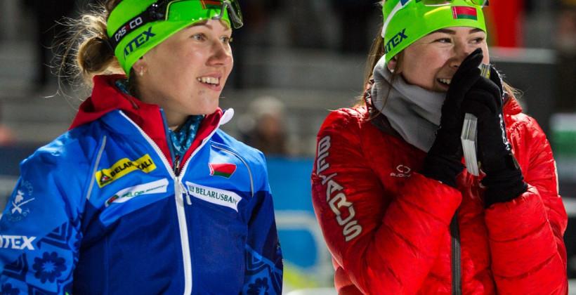 Женская сборная Беларуси по биатлону занимает восьмое место в Кубке наций