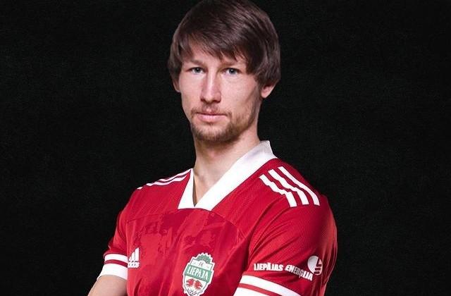 Дмитрий Бага продолжит карьеру в латвийской Лиепае