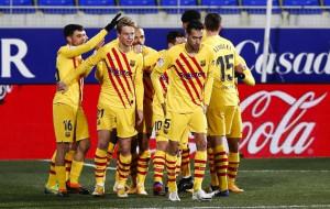 Осасуна потерпела поражение от Барселоны