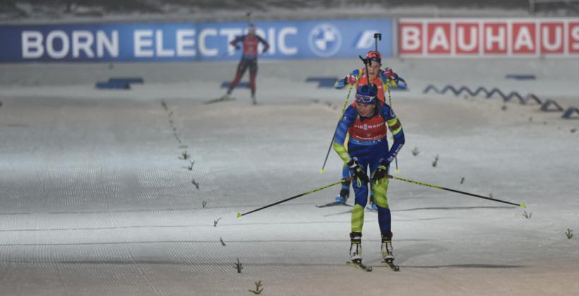 Женская сборная Беларуси финишировала на втором месте в эстафете в Оберхофе