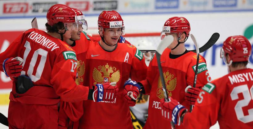 Стали известны полуфинальные пары молодёжного чемпионата мира по хоккею