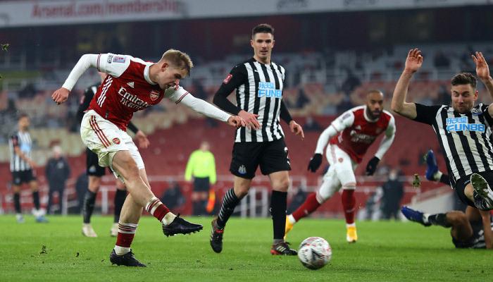 Арсенал одолел Ньюкасл и пробился в 1/16 финала Кубка Англии