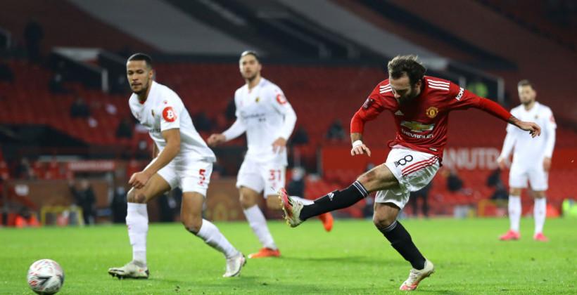 Манчестер Юнайтед минимально обыграл Уотфорд в Кубке Англии
