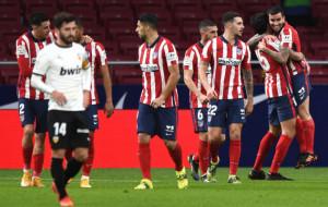 Мадридский Атлетико добыл важную победу дома над Валенсией