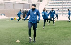 Первая тренировка минского Динамо в 2021 году (видео)