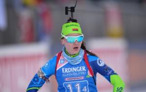 Ирина Кручинкина заняла 55-е место в индивидуальной гонке на этапе Кубка IBU
