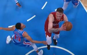 Айзея Хартенштайн — автор лучшего момента дня в НБА (видео)