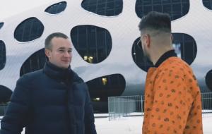 КраСава на «Борисов-Арене» (видео)