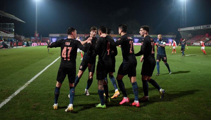 Манчестер Сити прошёл Челтенхэм в 1/16 Кубка Англии