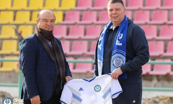 Александр Седнев назначен главным тренером Ордабасы