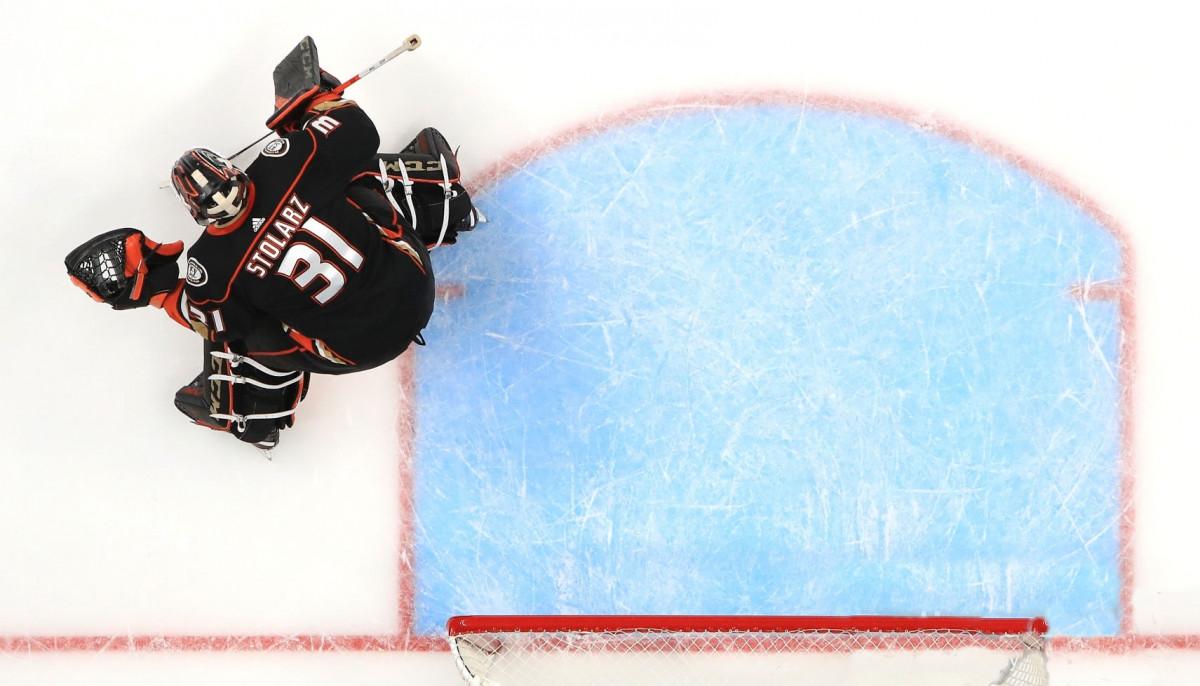 Столарц, Анахайм Дакс, НХЛ