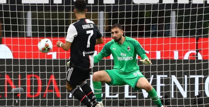 Милан последним из представителей топ-5 лиг Европы потерпел поражение в нынешнем сезоне