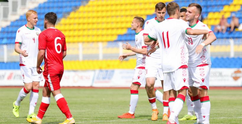 Молодежная сборная Беларуси вырвала победу у сверстников из Армении в товарищеском матче