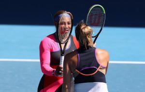 Обидное поражение Арины Соболенко от Серены Уильямс на Australian Open (видео)