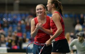 Александра Саснович и Вера Лапко стали четвертьфиналистками турнира в Лионе