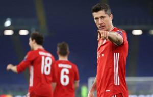 Бавария разгромила Лацио четырьмя голами в первом матче 1/8 финала Лиги Чемпионов