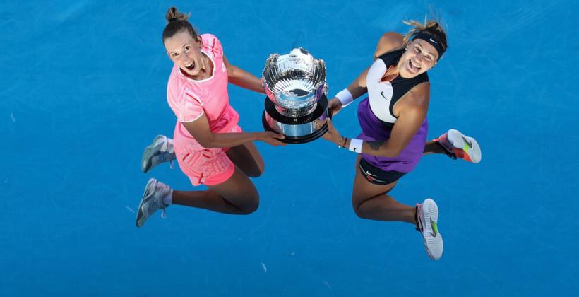 Арина Соболенко и Элизе Мертенс стали победительницами Australian Open