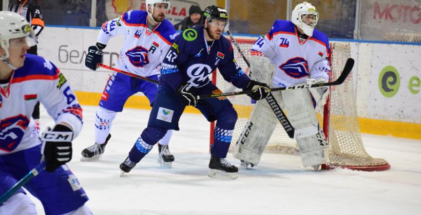 Динамо-Молодечно оказалось сильнее Локомотива, прервав серию из трех кряду поражений