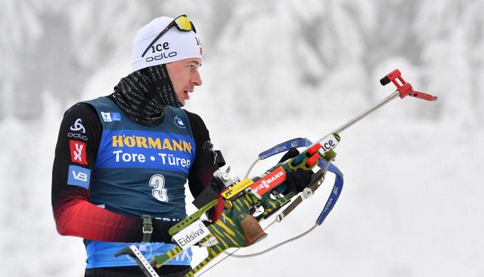 Стурла Легрейд выиграл масс-старт на чемпионате мира в Поклюке