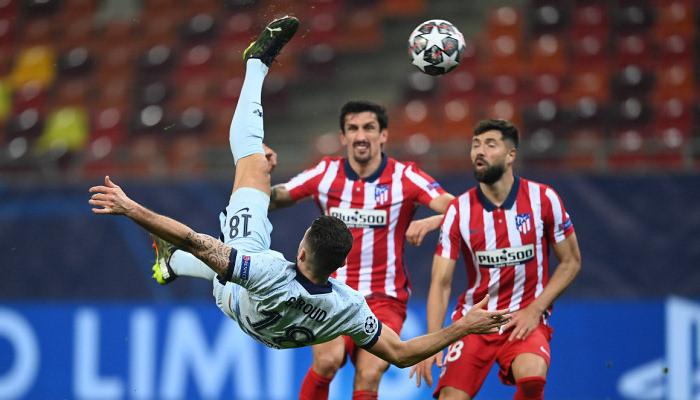 Челси минимально обыграл Атлетико в первом матче 1/8 финала Лиги Чемпионов