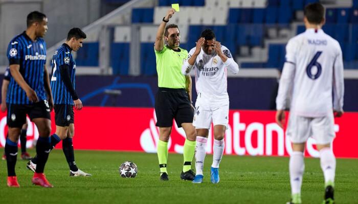 Мадрдиский Реал оспорит жёлтую карточку Каземиро