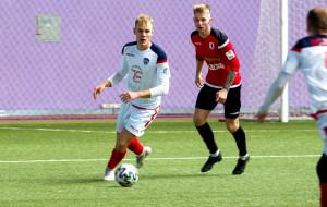 Трудовая победа Минска над Сморгонью в товарищеском матче (видео)