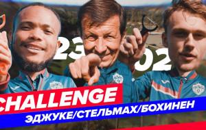 Футболисты ЦСКА устроили челлендж по чистке картофеля. Проигравший накормил Виктора Гончаренко (видео)