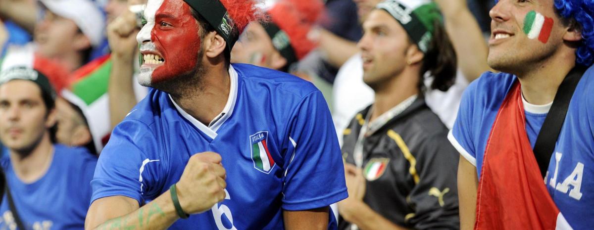 Итальянский футбол в декорациях высокого искусства