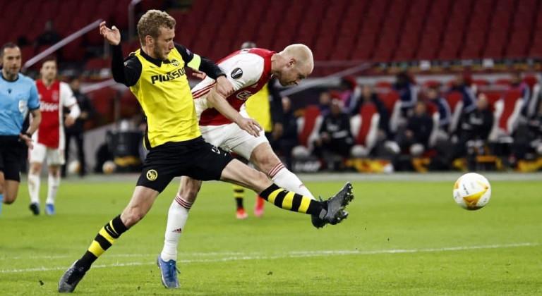 Аякс не оставил шансов Янг Бойз в первом матче 1/8 финала Лиги Европы