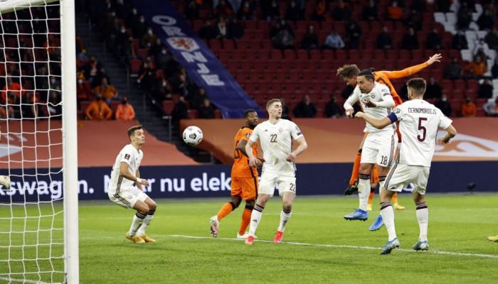 Нидерланды на своем поле одолели Латвию в матче отбора на ЧМ-2022