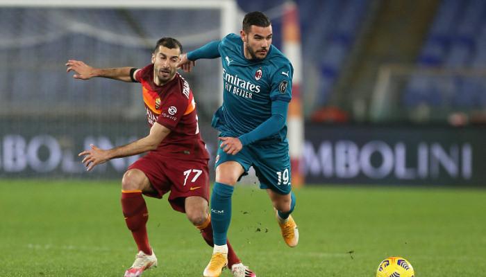 Милан в упорном гостевом матче взял верх над Ромой
