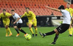 Валенсия за пять минут до конца матча добыла волевую победу над Вильярреалом