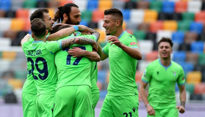 Лацио в гостевом матче минимально обыграл Удинезе