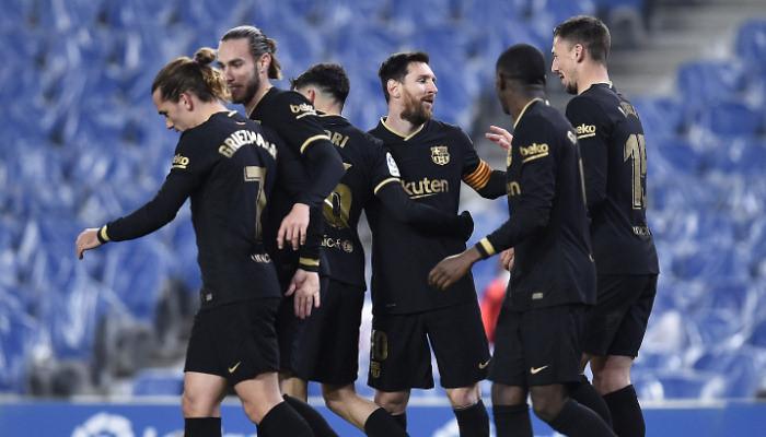 Барселона лишилась возможности стать чемпионом Ла Лиги второй год подряд