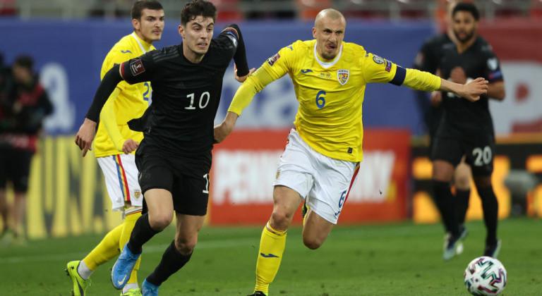 Гол Гнабри в первом тайме обеспечил Германии победу над Румынией