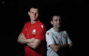 Команда Беларуси по киберфутболу (видео)