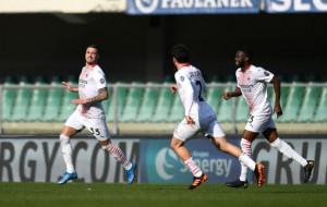 Милан не почувствовал сопротивления в матче против Вероны