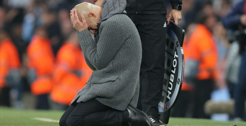 Поражение от Челси стало первым для Гвардиолы в финалах за Манчестер Сити