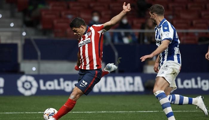 Атлетико минимально обыграл Алавес благодаря голу Суареса