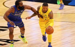 Команда ЛеБрона оказалась сильнее команды Дюранта в Матче всех звезд НБА