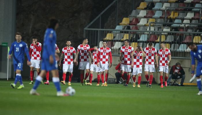 Хорватия не без труда справилась с Кипром в отборе на ЧМ-2022