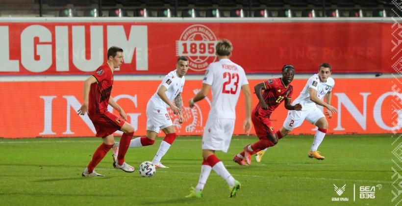 Сборная Беларуси оказалась слабее Бельгии в отборе на ЧМ-2022, потерпев самое крупное поражение в истории